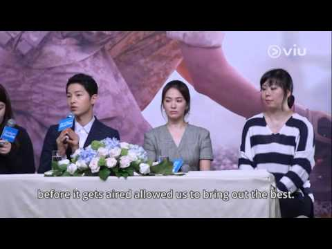 Descendants Of The Sun Press Conference in HongKong 2016 Eng