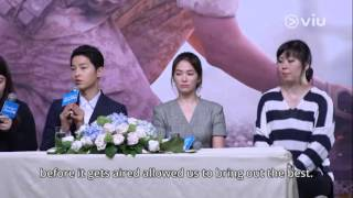 Download Video Descendants Of The Sun Press Conference in HongKong 2016 EngSub MP3 3GP MP4