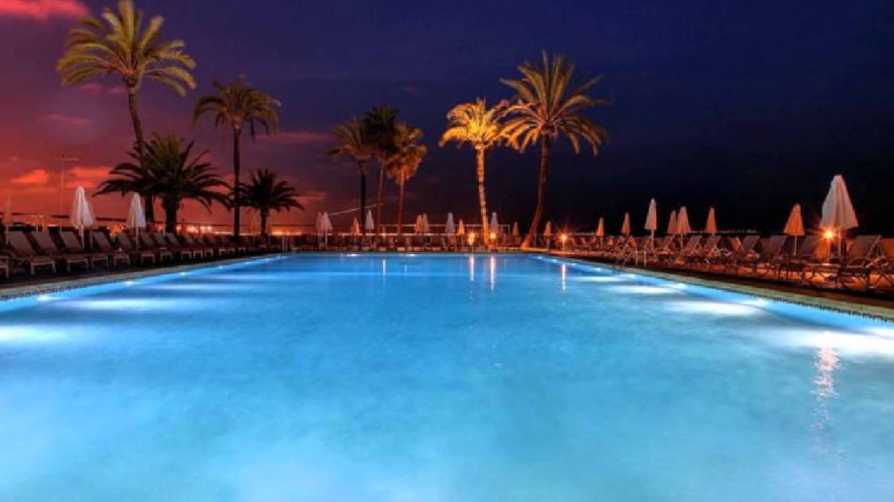 riu palace bonanza playa mallorca espa a youtube. Black Bedroom Furniture Sets. Home Design Ideas