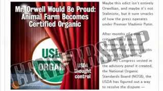 Orwellian: Usda To Censor Media Use Of Organic Logo Without 'pre-approval'