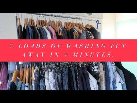 Washing in 7 minutes!