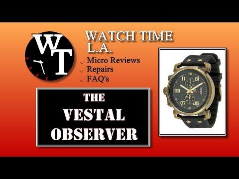 Vestal Watch Review - Vestal Observer Full Review