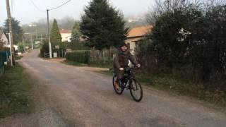 vélo VTT moteur thermique 80cc