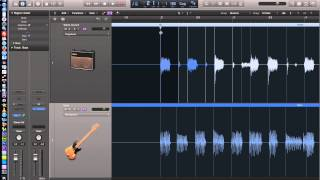 Logic Pro X - Video Tutorial 18 - Flex Time Part 1 - Polyphonic and Monophonic