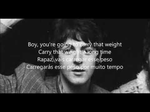 Golden Slumbers/ Carry that weight/The End with lyrics e tradução em português