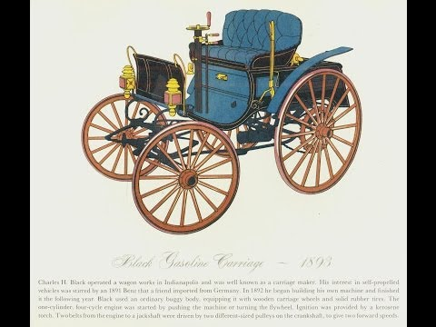AN ILLUSTRATED TOUR OF ANTIQUE CARS: 1890S TO 1911 - TIME HOPPER PRODUCTIONS