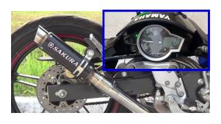 Performance Muffler Sakura Aftermarket Racing Yamaha Vixion