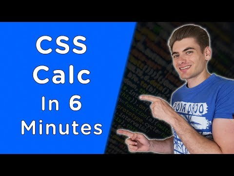 Learn CSS Calc In 6 Minutes thumbnail