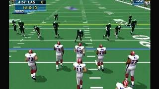 NFL 2k2 Sega dreamcast footage part 1