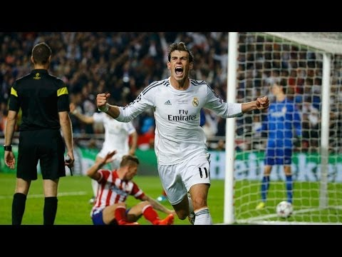 Gol Bale 2 - 1 | Atletico Madrid - Real Madrid | Final Champions League 2014