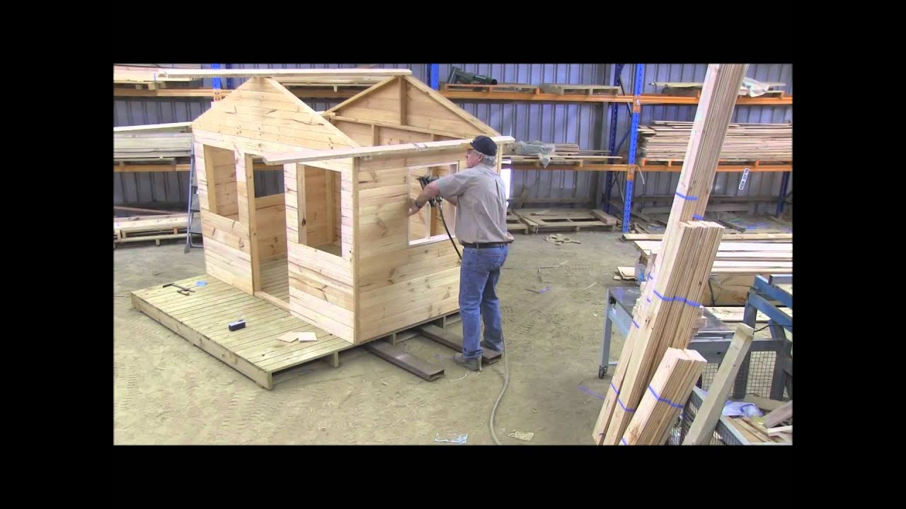 How to build a cubby house windows pt6 youtube - When building a house ...