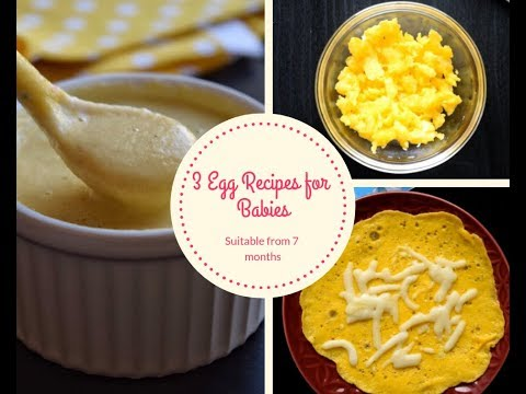 3 Easy & Healthy Egg Recipes For Babies And Toddlers   How And When To Give Eggs To Baby