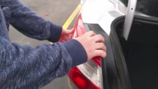 Ford Focus Rear Bulb Replacement, Bulb Failure Message Fix
