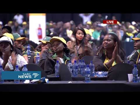 Cyril Ramaphosa closes the 54th ANC Elective Conference