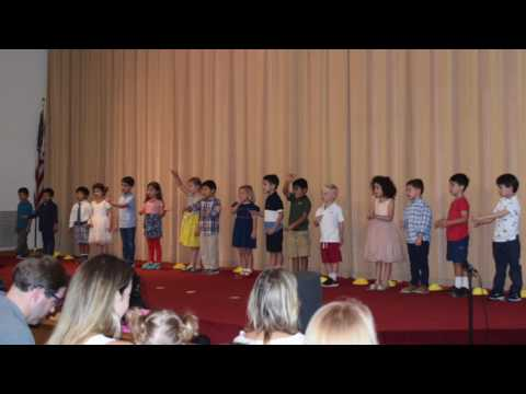 Kindergarten Graduation at Geneva Day School, May 26, 2017