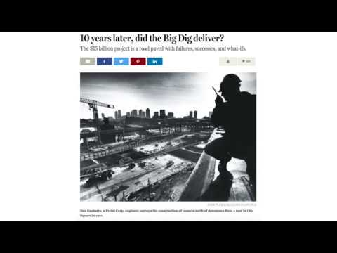 The Boston Globe- Big Dig