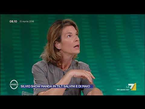 Omnibus - Silvio Show manda in tilt Salvini e Di Maio (Puntata 13/04/2018)