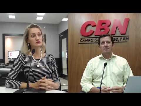 Entrevista CBN Campo Grande: Noêmia Frazão - Coordenadora Expo Amigas de Negócios