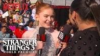 Sadie Sink | Stranger Things 3 Premiere | Netflix