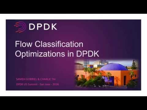 Flow Classification Optimizations in DPDK