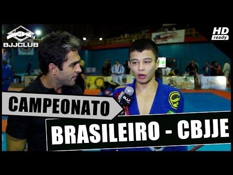 Jiujitsu - Entrevista com João Miyao no Camp. Brasileiro de Jiu-Jitsu Esportivo - 2014 CBJJE