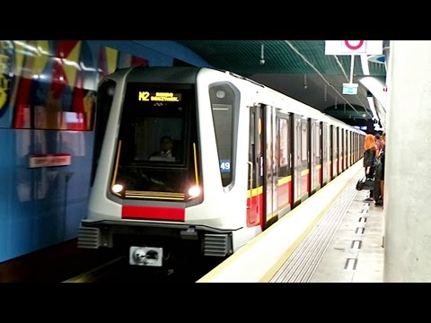 "Warsaw Metro Line M2 - Siemens ""Inspiro"" , Poland"