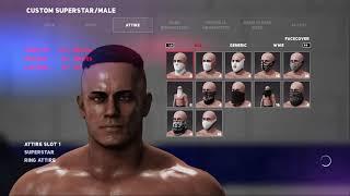 If i could customize a fortnite skin (WWE 2K18)