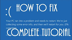 Windows 10 Blue Screen Of Death FIX [Tutorial]