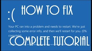 Windows 10 Blue Screen Of Death FIX [2017 Tutorial]