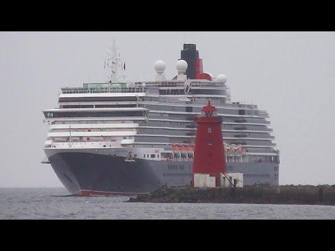 MS Queen Victoria Cruise Ship - Dublin Port, Ireland