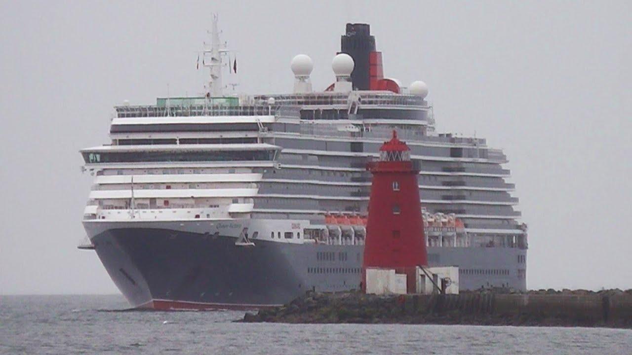MS Queen Victoria Cruise Ship Dublin Port Ireland YouTube - Cruise ship ireland