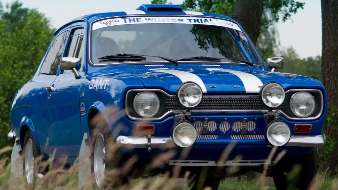 1972 Ford Escort 1600 MEXICO rally car (HD photo video with ...
