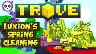 hOW TO COMPLETE LUXION SPRING CLEANING 2019 EVENT!  Trove Event Guide & Tutorial