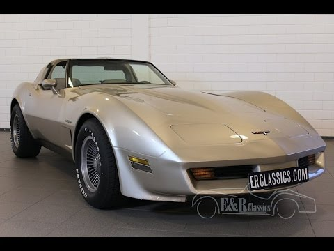 Chevrolet Corvette C3 1982 Collector Edition, Crossfire injection VIDEO www.ERclassics.com