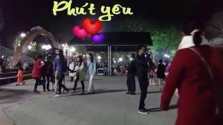 PHÚT YÊU ĐẦU. Ca sĩ: Trang Pink. HD.
