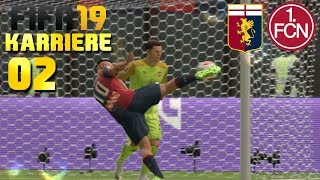 FIFA 19 KARRIERE [#02] ⚽ FC Genua vs. 1.FC Nürnberg, 2. Spieltag Turnier   Let