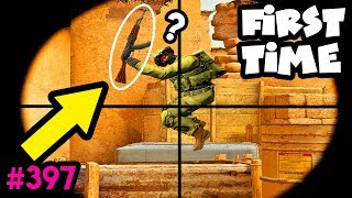 HIS FIRST TIME in CS:GO! - CS:GO BEST ODDSHOTS #397