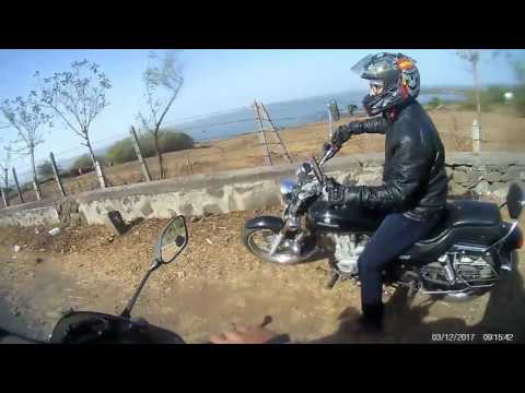 RIDING THROUGH THE COASTAL ROUTE TO THE AARAVI BEACH - 1