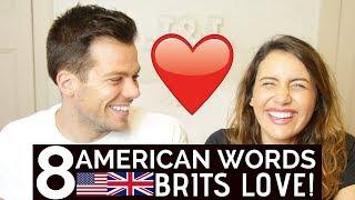 🇺🇸 American Words British People LOVE! 🇬🇧 | American vs British!