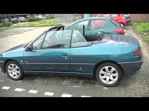 te koop peugeot 306 cabrio 1997 nieuw model youtube. Black Bedroom Furniture Sets. Home Design Ideas