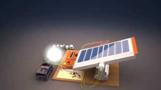 3d solar project,,,,,,duel-axis solar tracking.,,,made in 3Ds Max