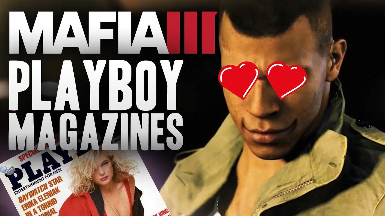 Mafia 3 playboy magazines
