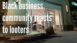 Black Columbus business community deals with effects of looting