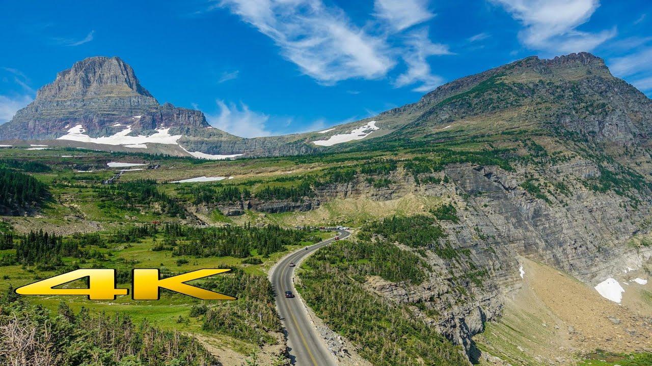 Download Glacier National Park Montana 4K 🇺🇸