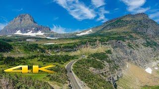Glacier National Park Montana America 4K