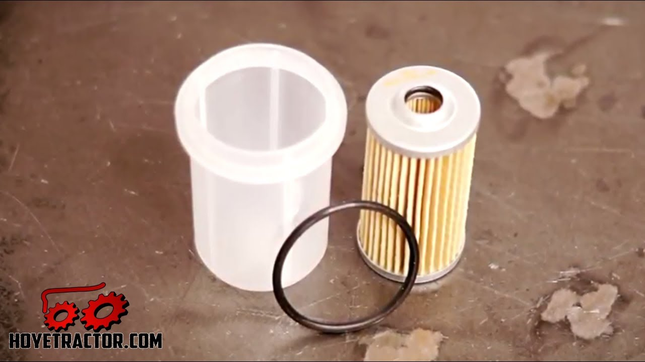 hight resolution of yanmar tractor fuel filter replacement bleeding