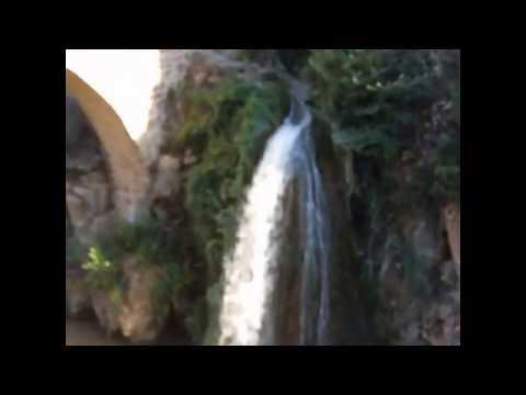 Uşak Karahallı Tarihi Clandras Köprüsü ve Şelalesi