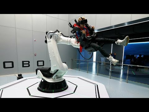 Inside the Largest Virtual Reality Theme Park In The World – VR Star Park China