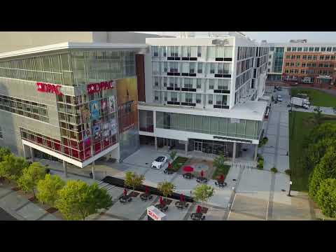 Downtown Durham NC - DPAC, Bulls Stadium, and Tobacco Road - 8/26/2017