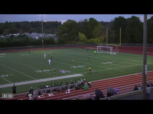 Acton Boxborough Varsity Boys Soccer Nashoba 10/19/14